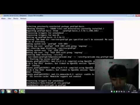 Instalasi & Konfigurasi FTP Server Ubuntu