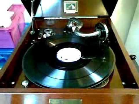 James Stephens - Poems - 78 rpm - County Mayo - Fifteen Acres - HMV 109  - Irish Poetry