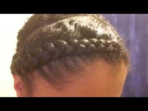 Flat twist & Braid to scalp / Step by step / cute summer styles