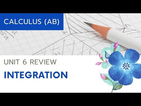 Calculus AB Unit 6 Review