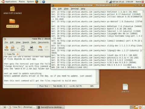 Linux tutorial [extracting .tar.gz]