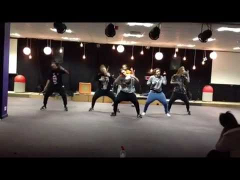 WDC Crew Dance Training Session in Wolverhampton at the House Of Dance