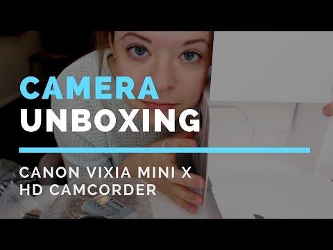 Unboxing the Canon Vixia Mini X HD Camcorder - Paige Media