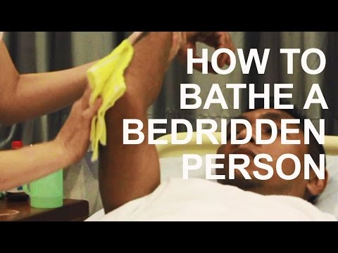 How to Give a Bed Bath