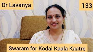  Swaram for Kodai Kaala Kaatre   Paneer Pushpangal   Dr Lavanya   Voice Culture Trainer   Notes  