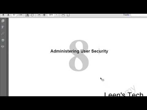 Oracle DBA 11g Tutorial in Bangla: Lesson#8 Part#1 Administering User Security
