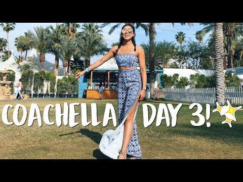 COACHELLA DAY 3! My Favorite Day So Far!   Jeanine Amapola