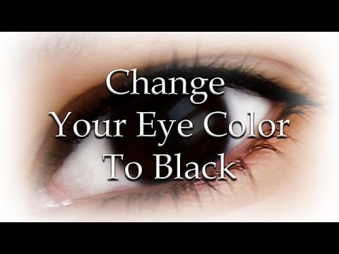Change Your Eye Color To Black Naturally (Subliminal)
