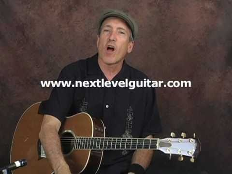 Johnny Cash guitar trick country lesson make acoustic guitar sound like a snare drum
