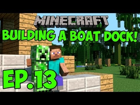 Survival Craft - Episode 13 - Building a Boat Dock!