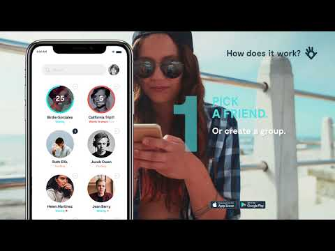 Wave Let's Meet App for iPhone - Find your friends in the crowd