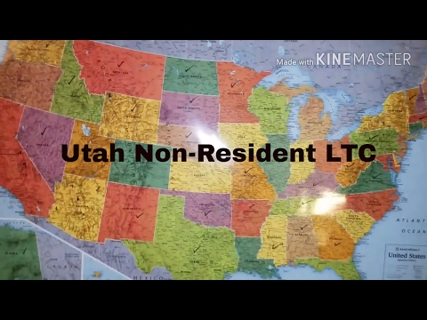 More about Non-Resident Utah LTC and my concerns