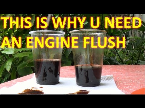 How to FLUSH engine OIL (with LIQUI MOLY ENGINE FLUSH)