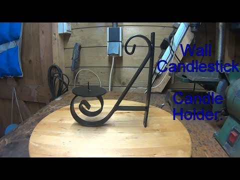 Wall Candlestick / Candle Holder