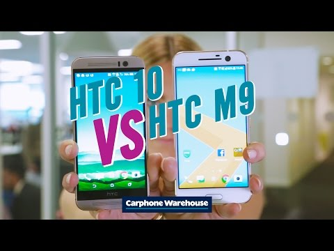 HTC 10 v HTC One M9
