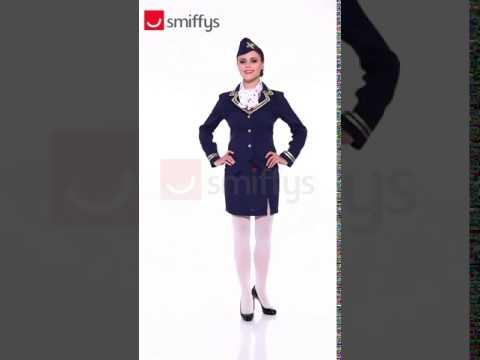 Ladies Airways Attendant Costume