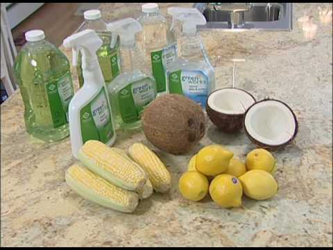 How to Use Green Cleaning Products