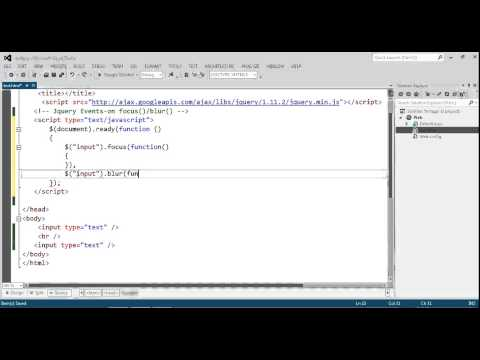 How to get the focused element with jQuery