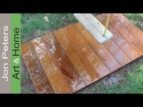Build a Tiny Deck