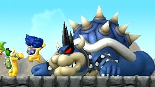 New Super Mario Bros Wii - Dark Bowser Boss Battle