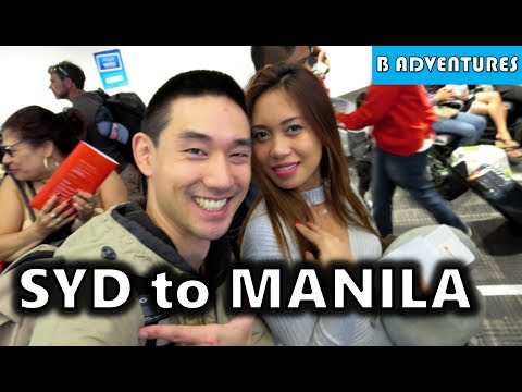 Sydney to Manila NAIA Taxi Scams Philippines S3, Vlog 1