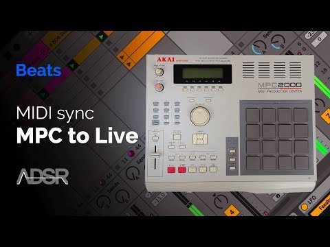 MIDI sync Akai's MPC 2000 with Ableton Live