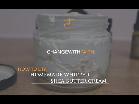 DIY How to : Homemade Whipped Fluffy Shea Butter [ WINTER ⛄️ ESSENTIAL ]