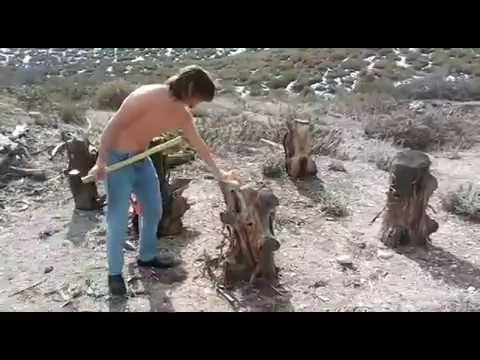 Splitz-All : The innovative tool to split firewood for those Monster logs - Good N Useful