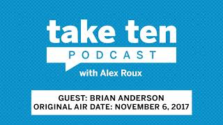 Take Ten with Alex Roux: Brian Anderson (Air Date: November 6, 2017) | Wisconsin | Big Ten Football