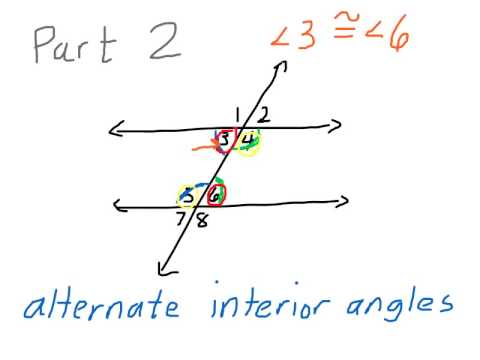 Angle Relationships with Parallel Lines (PART 2)