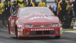 Erica Enders races to the top Friday in Topeka