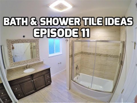 Bath & Shower Tile Ideas EPISODE 11 Curved Tub