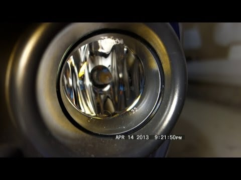 How To Reach & Replace Ford Focus Fog Lamp Bulbs