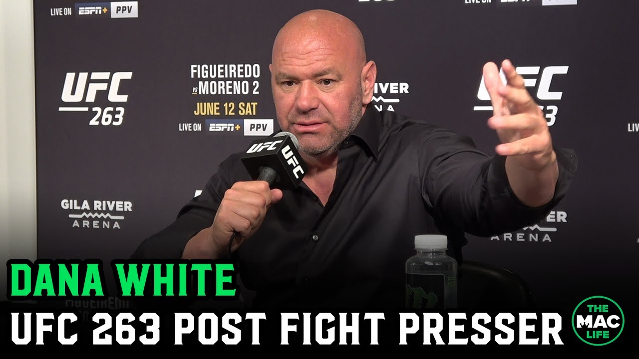"""Dana White: """"Nate Diaz is going to ask for a 6 rounder next time""""; Jake Paul v Woodley is bulls***"""