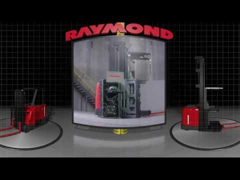Raymond Virtual Reality Simulator - 360° Forklift & Warehouse Video