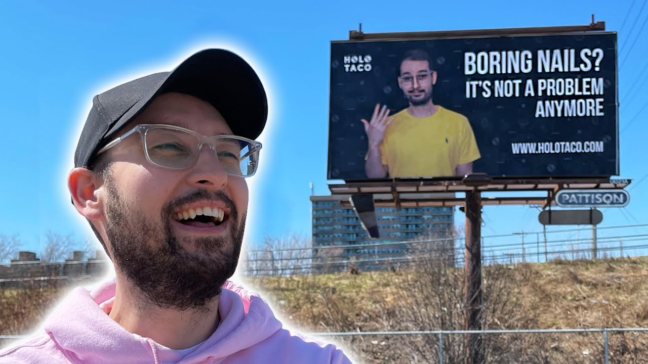 I Put My Boyfriend On A Billboard