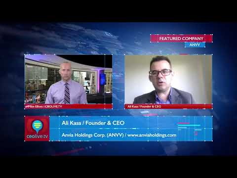 Anvia Holdings (ANVV) Founder & CEO Featured on CEOLIVE.TV