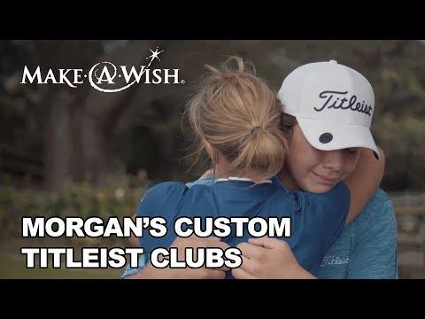 Morgan's custom clubs from Titleist | Make-A-Wish Northeastern California & Northern Nevada