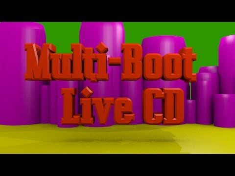 Create a Multi Boot Linux Live CD Tutorial