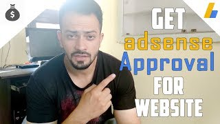 How to approve google adsense for website  - only in 3 steps