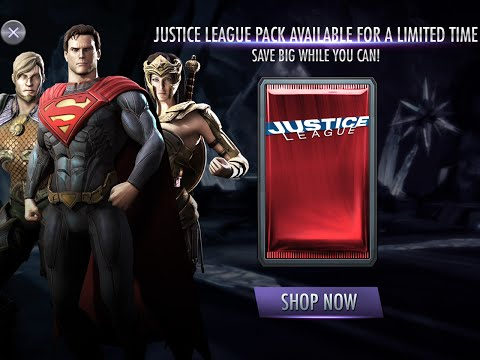 New - Justice League Booster Pack: Injustice iOS Android