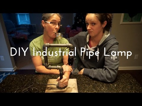 How to Make an Industrial Pipe Lamp