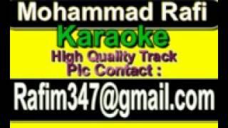 Rang Jamake Jayenge Chakkar Chala Karaoke Naseeb 1981 Rafi
