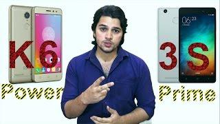 [Hindi-हिन्दी] Lenovo K6 Power vs Redmi 3S Prime  (Opinion Only)
