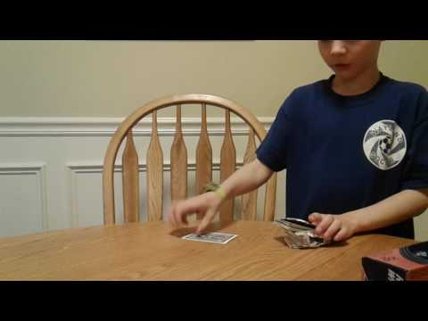 How to make a card holder for a deck of playing cards