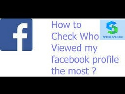 How can check who views your Facebook profile