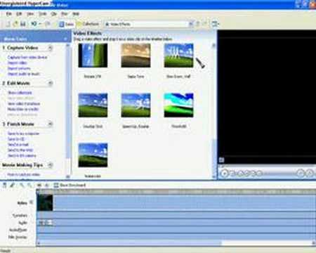 Windows Movie Maker Slow motion