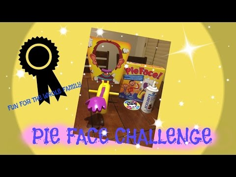 Pie Face Game Challenge