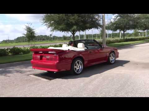 1989 Ford Mustang GT Convertible: Tampa Showroom #162