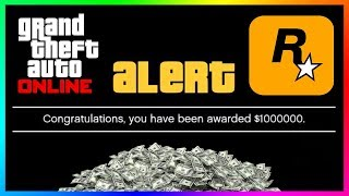 How To Get $1,000,000 For FREE From Rockstar Games In GTA 5 Online By Doing This ONE Simple Thing!